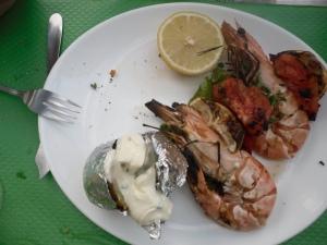 34 Liana's jumbo shrimp