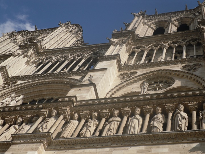 57 Notre Dame from below
