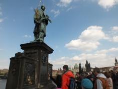 15 statue on charles' bridge