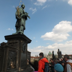 15 statue on charles' bridge